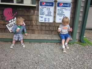 Ice Cream Stand in Waldoboro Midcoast Maine