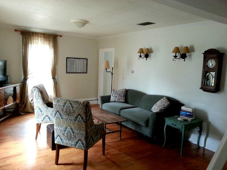 Sadler House Vacation Rental Living Room
