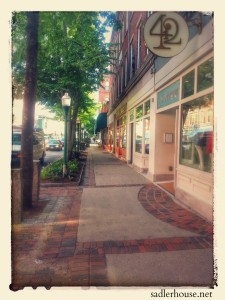 Main Street in Rockland, Maine