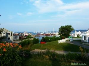 Rockland Maine harbor