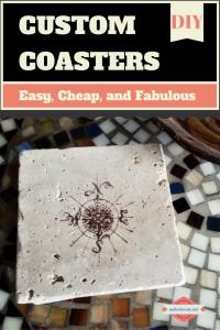 Custom Coasters via sadlerhouse.net