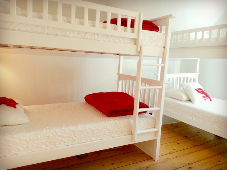 Vacation Rental Roosm - Bunk Room at Sadler House in Maine