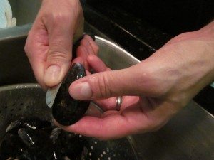 clean your mussels