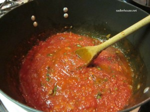 Marinara for Mussels