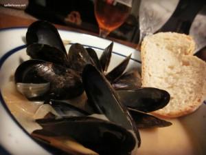 Mussels Trieste Style