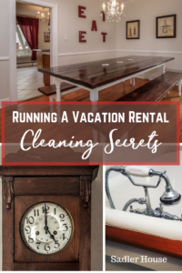 Vacation Rental Cleaning Secrets