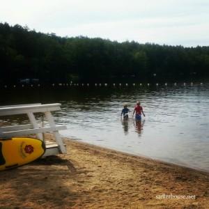 Lake Damariscotta mid coast Maine