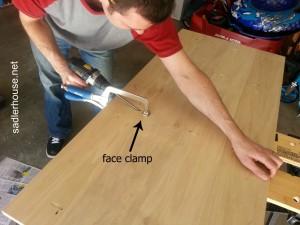 Industrial Coffee Table - pocket hole screws