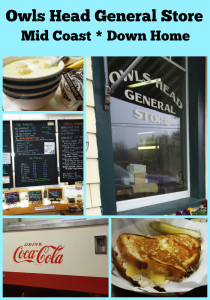 Visiting the Owls Head General Store - Maine
