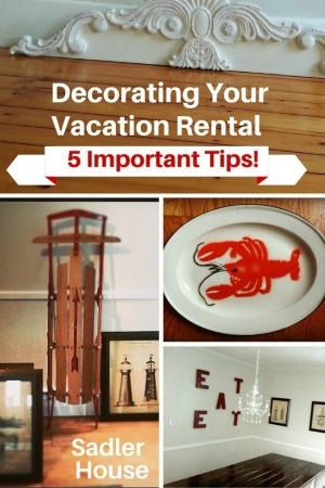 Decorating A Vacation Rental - Sadler House