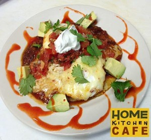 Huevos Rancheros at Rockland Restaurant Home Kitchen Cafe