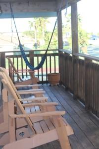 Vacation Rental Decor - Porch in Port Aransas, TX