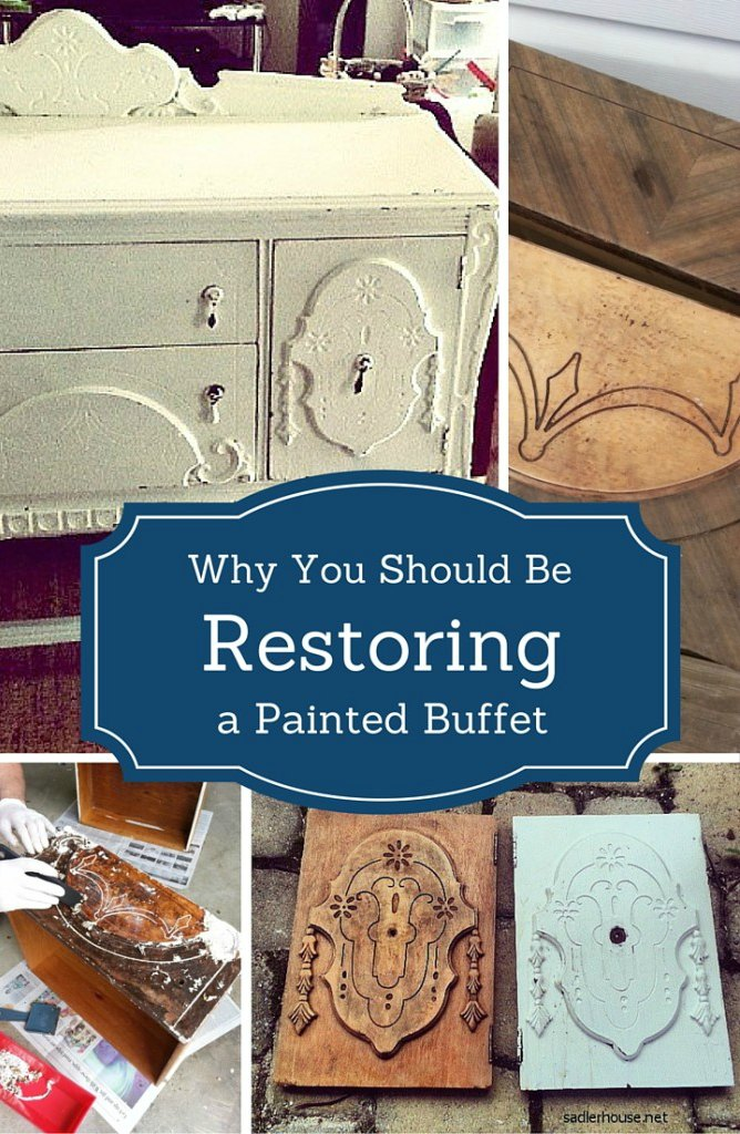 Restoring a Depression Era Buffet