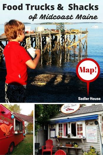 Midcoast Maine Food Trucks and Food Shacks