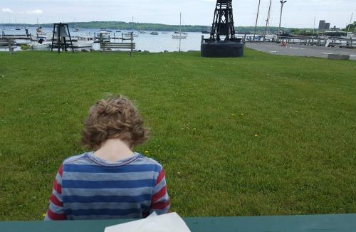 Buoy Park, Rockland, Maine
