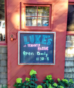 Luke's Lobster Tenant's Harbor Maine
