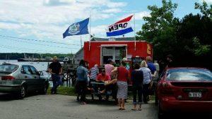 'Wich, Please Truck in Midcoast Maine