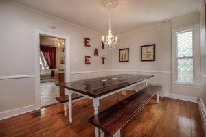 Midcoast Maine Vacation Rental Sadler House Dining Room