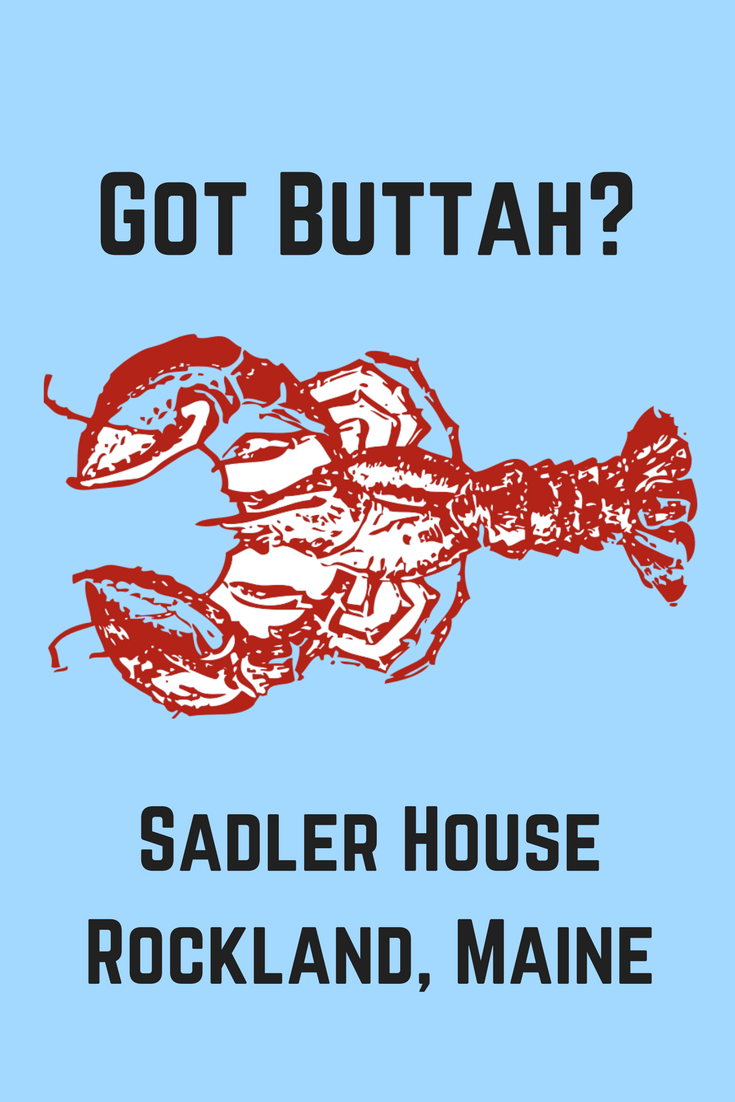 Rockland's got buttah and Maine lobster right out of the water. Accept no substitute. Click through for travel planning tips for midcoast Maine and find out how to book our in-town historical family vacation home without service fees. #maine #vacation #family #kids #lobster #vacationplanning #vacationideas #newengland #Rockland