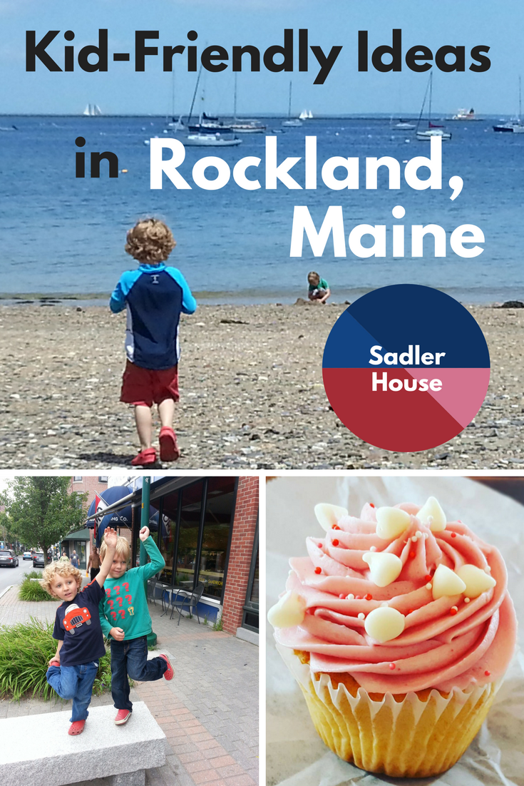 If Maine is on your bucket list for family travel in New England, don't miss Rockland! Click through for advice about the best things to do to make your vacation with kids fun for everyone. #Maine #kids #family #Rockland #travel #vacation #vacationrental