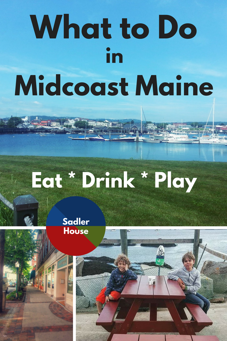 What to Do in Midcoast Maine: click through for a collection of articles on everything from sightseeing to food! #Maine #Travel #Summer #newengland #bucketlist #vacation #family
