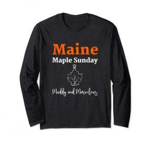 Maine Maple Sunday Shirt