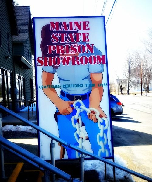Maine Spring Fun - Maine State Prison Showroom