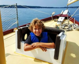 Sailing in Maine on The Bufflehead with Kids