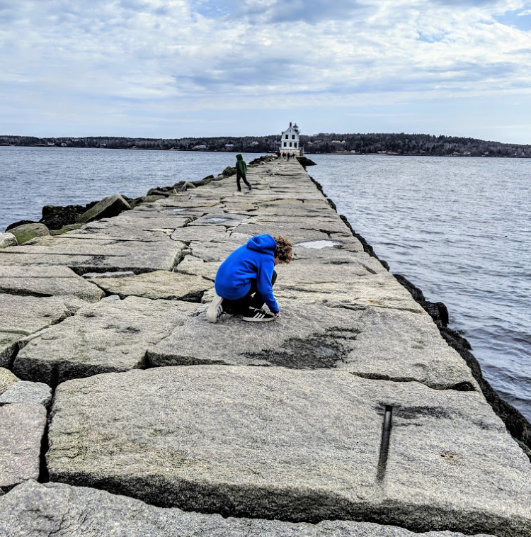 Maine Spring Break at the Breakwater in Rockland Maine