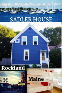 Sadler House in Rockland, Maine